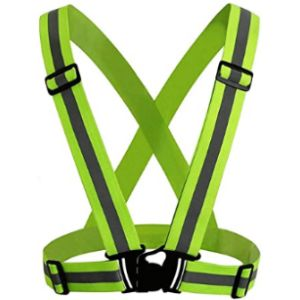 Jun-H Reflective Safety Vest Running