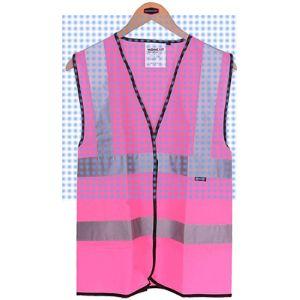 Work Kit Girl Pink Reflective Safety Vest