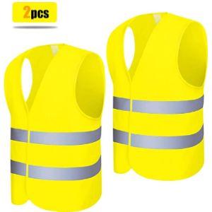 Renfox Police Safety Vest Reflective