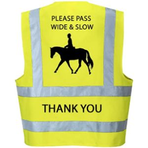 Productsave Horse Riding High Visibility Vest