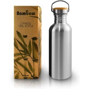 Bambaw 1L Stainless Steel Water Bottle