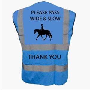 Productsave Blue High Visibility Vest