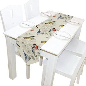 Ahomy Bird Table Runner