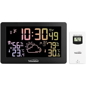 Youshiko Indoor Large Display Outdoor Thermometer