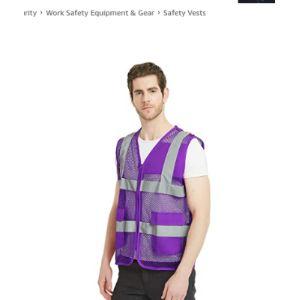 Gogo Purple Safety Vest
