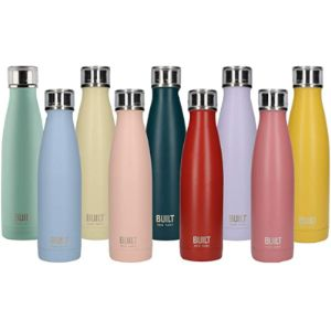 Built Pink Stainless Steel Water Bottle
