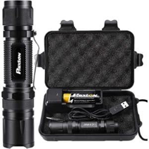 Led Waterproof Police Torch Light
