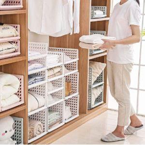 Homieco Closet Organizer Corner Shelf