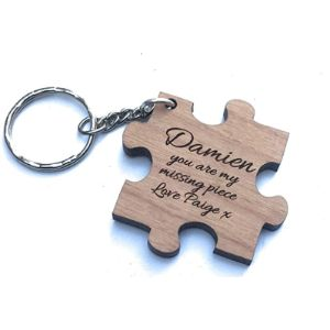 Visit The Rutherfords Gifts Store Jigsaw Keyrings