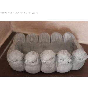 Voss Cement Bird Bath