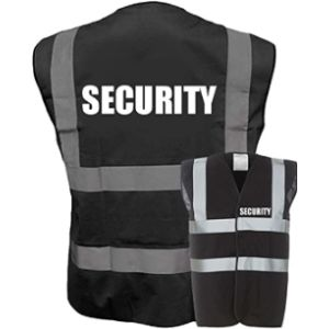 Visit The Expert Workwear Store Black High Visibility Vest