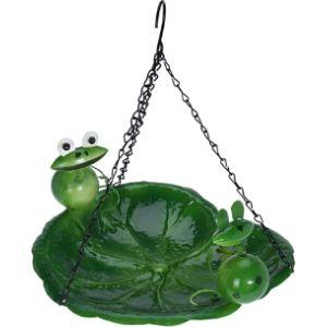 Excellent Housewares Frog Bird Bath
