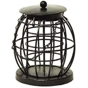 Homezone Caged Fat Ball Bird Feeder