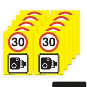 Health & Safety Sign Supplies Speed Camera Sign
