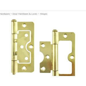 Hardware Essentials Flush Hinge