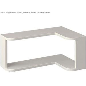 Floating Shelves Gy Espresso Corner Shelf