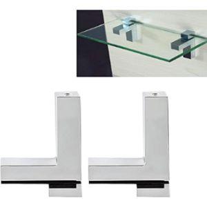 Tiberham Glass Shelf Clip