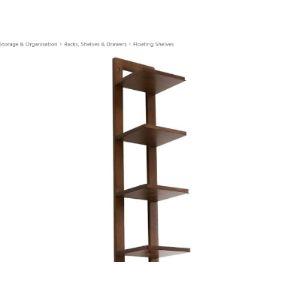 Tv Component Corner Shelf