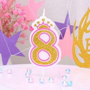 T-Shin Number 8 Candle