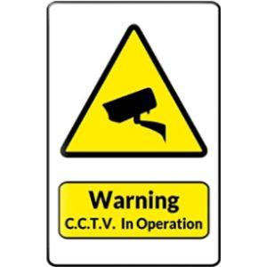Rebecca Simpson Yellow Triangle Warning Sign