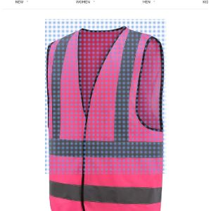 Visit The Aykrm Store Pink High Visibility Vest
