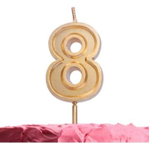 Get Fresh Number 8 Candle
