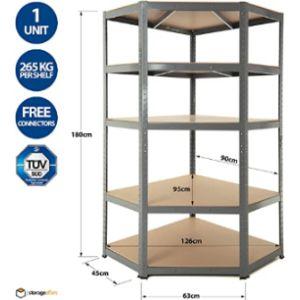 Storage Affairs Bar Corner Shelf