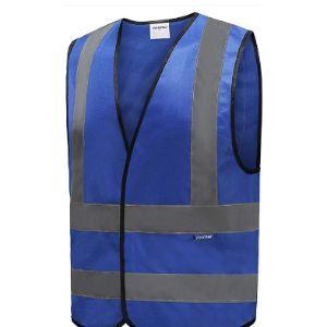 Visit The Aykrm Store Blue High Visibility Vest