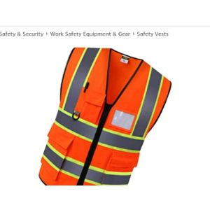 F Fityle Engineer Safety Vest
