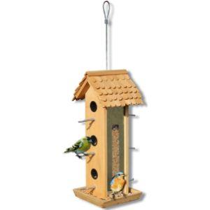 Jxxddq Bird Feeder Wall Mounted Bird Feeding Station