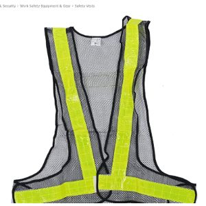 Jvsism Law High Visibility Vest