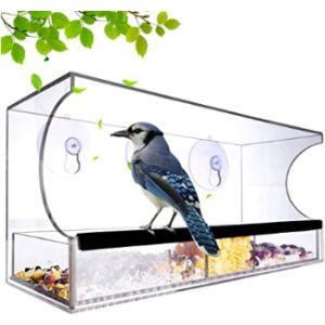 Kanena Acrylic Window Bird Feeder
