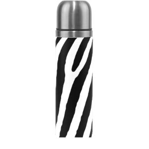 Ahomy Zebra Vacuum Flask