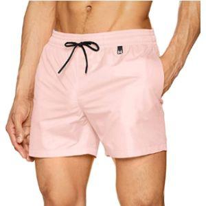Hom Pink Boxer Short
