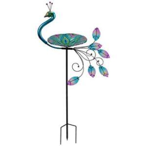 Garden Mile Glass Bird Bath