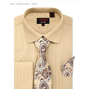 C. Allen Herringbone Pattern Shirt