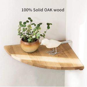 Love-Oak Corner Shelf Hanging