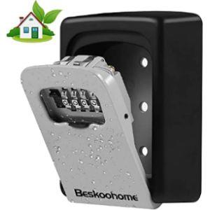 Beskoohome Combination Lock Key Box