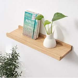Love-Oak Corner Ledge Shelf