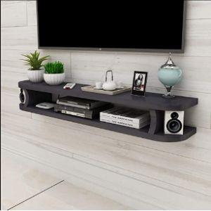 Feng-Floating Shelf Electronics Corner Shelf