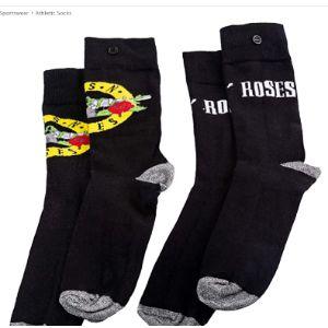 Guns N Roses Logo Sock