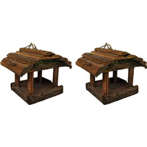 Selections Rustic Bird Table