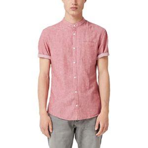 Q/S Designed By Herringbone Pattern Shirts