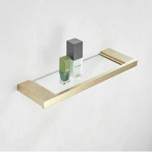 Kelelife Glass Vanity Shelf Bathroom