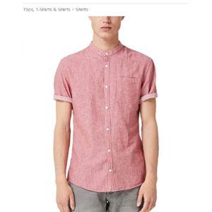 Q/S Designed By - S.Oliver Herringbone Pattern Shirts