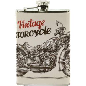 Lafle Vintage Leather Hip Flask
