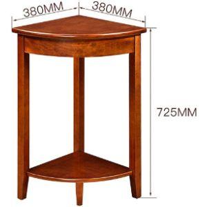 Lin He Shop Table Corner Shelf