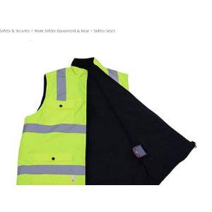 Yyhsnd Cotton High Visibility Vest