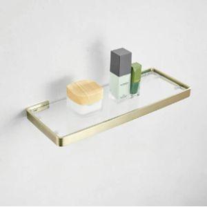 Kelelife Gold Bathroom Shelf