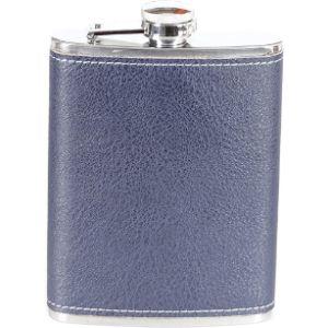 Heesung Vintage Leather Hip Flask
